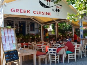 Restaurant Crazy Spoon, Skiathos, Grecia