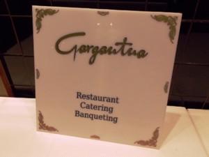 Restaurant Gargantua d'oro